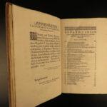 1650 1ed Antiquarian Monasticum Mundelheim Monks Saint Anthony Cenobite Monastic