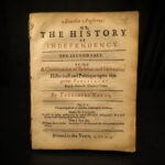 1649 1st English Civil War Independency Clement Walker Anarchia Verax Cromwell