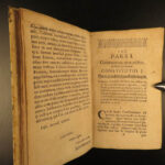 1713 LAW Witches Benedict Carpzov Forensic Dictionary WITCHCRAFT Saxony Criminal