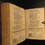 1652 GREEK Poetry Hesiod Pythagoras Theocritus Phocylides Greek Latin Cambridge