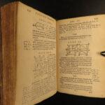 1678 EUCLID Elements & Data Greek Mathematics Geometry Science Barrow Latin