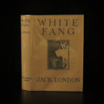 1906 1st ed White Fang by Jack London Adventure Novel Illustrated Wolves Indians