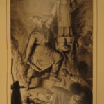 1880 VIKINGS Frithjof's Saga Norse Mythology Epic Swedish Iceland EXQUISITE