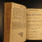 1814 EARLY American German Songbook Hymns Bible Psalms Philadelphia Penn Dutch