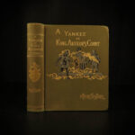 1889 1st/1st Mark Twain Connecticut Yankee in King Arthur's Court Magic SIGNED