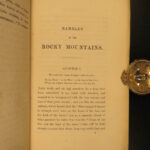 1864 1ed Rocky Mountains Exploration Cheyenne INDIANS Gold Mining Colorado