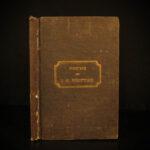 1837 1ed SLAVERY Abolition Poems of John Greenleaf Whittier American Politics