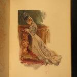 1907 1st ed Dream of Fair Women Harrison Fisher Girl Illustrated Color Poetry