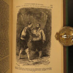 1880 Don Quixote Mancha Cervantes Adventures English America Illustrated
