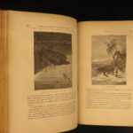 1877 1ed Jules VERNE 20,000 Leagues Under Sea French Illustrated Sci-Fi CLASSIC