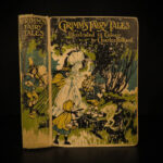 1913 Grimm Fairy Tales CINDERELLA Frog-Prince Red Riding Hood Color Illustrated