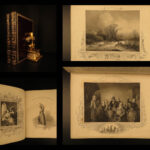 1849 EXQUISITE Payne Old Master ART of Munich Germany 120+ Engravings English 2v