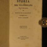 1822 House of MEDICI Florence Italy Italian Duchy Tuscany Galluzzi 11v History