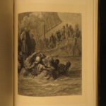 1880 CRUSADES 1st English ed Michaud Holy Wars Jerusalem Dore Illustrated HUGE