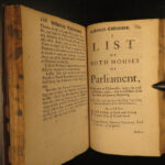 1685 OXFORD & Westminster Parliament Report LAW Politics Charles II Howard Trial