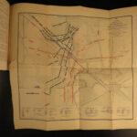 1894 Confederate Leonidas Polk Civil War General Battle MAPS Chickamauga 2v SET