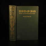 1900 Walt Whitman Leaves of Grass American Poetry SEXUALITY Scandal Romanticism