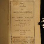1765 RARE French Songs Music Chansons Airs Ariettas Egidio Duni Vocal Scores