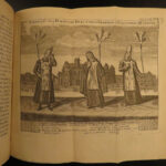 1769 Spanish Inquisition History Catholic TORTURE Heretics Goujet 2v SET Plates