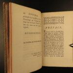 1776 GREEK Enchiridion of Epictetus Stoic Philosophy Cebes Tablet + Simplicius
