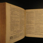 1620 Portuguese Jesuit BIBLE Septuagint Commentary Manuel de Sa Latin Vellum