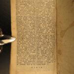 1716 Paradisus Animae German ASCETICISM Prayers Illustrated ART Horstius + MARY