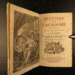 1727 1ed Academy of Sciences Astronomy Mars & Venus Anatomy Chemistry Mechanics