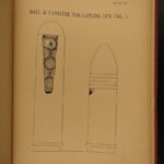 1878 1st ed US ARMY Weapons GUNS Military Firearms Ammunition Fuses Primers
