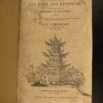 1838 1st ed CHINA History Medhurst Missionary Buddha Confucius Engravings MAP