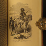 1869 1ed Life of Kit Carson American Expeditions INDIANS Hunting John C Fremont