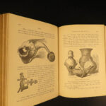1882 Museum of Antiquity EGYPT Pagan Occult Rituals Illustrated Babylon POMPEII