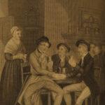 1856 Robert Burns Scottish Poetry Scotland Poems Cunningham Letters Illustrated