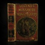 1874 Missouri & Mississippi Legends INDIANS Negro Murder Native American Tales