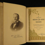 1897-1921 1st ed Messages US Presidents Washington Lincoln Grant Roosevelt 20v