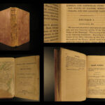 1831 1st ed Guide for Emigrants Missouri & Illinois Native American INDIANS Peck