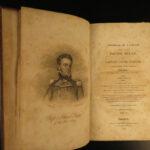 1822 Famous 2ed David Porter Journal USS Essex Battle of Valparaiso War of 1812
