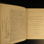 1872 1ed MASONIC Old Charges of British Freemasons Constitutions Rituals Hughan