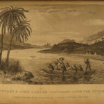 1836 AFRICA 1ed Lander Niger River Exploration Illustrated Maps Slavery