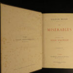 1862 EARLY Les Misérables Victor HUGO French Classic Literature 10v Brussels