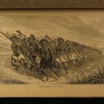 1873 1ed Races of Mankind Eskimos INDIANS Navajo Japan China Africa Illustrated