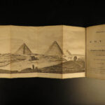 1819 1st ed Forbin Travels in EGYPT Levant Voyages Pyramids Sphinx Jerusalem
