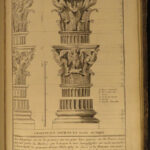 1790 Five Orders Architecture VIGNOLA Italian ART Michelangelo RARE French ed