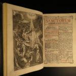 1784 RARE Catholic Missal Kempten Bavaria Germany Music Chant Illustrated HUGE