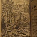 1648 Jerusalem Delivered Tasso CRUSADES Baudoin Lasne ART Illustrated Battles