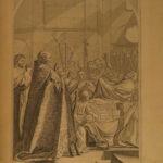 1717 Life of Saint Bruno Eustache le SUEUR Painting Art HUGE FOLIO Engravings