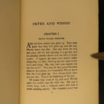 1927 Works of J.M. Barrie PETER PAN and Wendy Little White Bird Light Idylls 8v