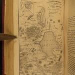1853 MEXICO & California Aztec Spanish Mayer Santa Fe Nevada Indians Voyages 2v