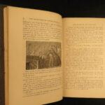1875 1ed Jules Verne Captain Hatteras Arctic Voyages North Pole Illustrated Riou