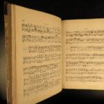 1835 Beethoven & Handel Hallelujah Chorus Rossini Overtures Piano MUSIC Scores