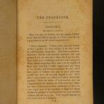 1857 Charlotte Bronte 1st ed The Professor CLASSIC Literature Villette Jane Eyre